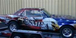 Military Tribute Vehicle